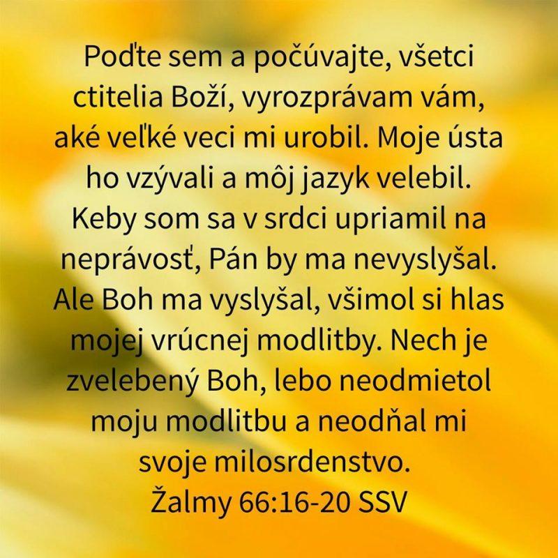 Evanielizačná služba 23.02.2020