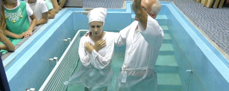 Svätý Krst na meno Ježiš 23.08.2020